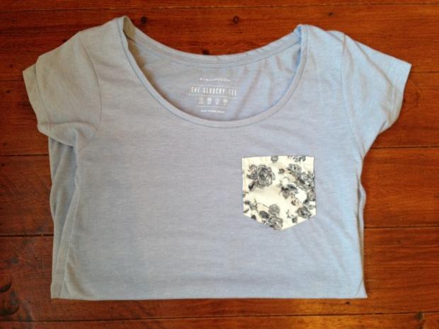 DIY Pocket T-Shirt Poppysews.com